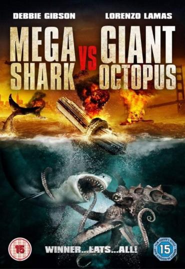 Mega Shark Versus Giant Octopus