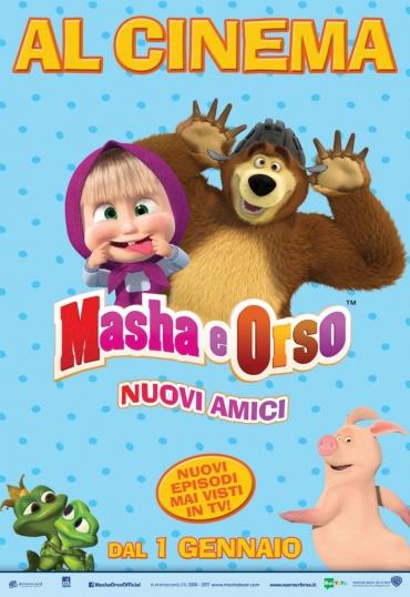 Masha e Orso. Nuovi Amici