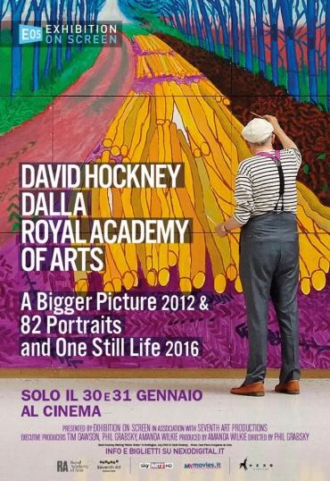 David Hockney dalla Royal Academy of Arts