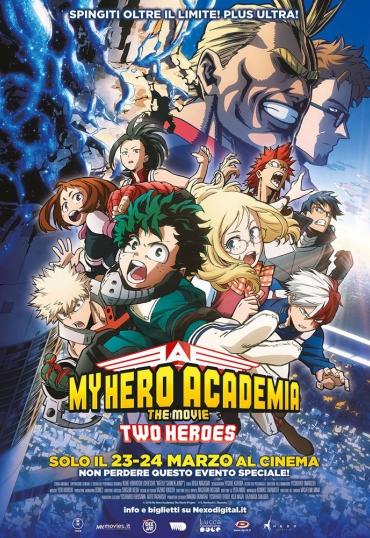 My Hero Academia - The Movie. Two Heroes
