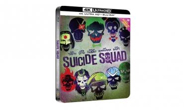 Suicide Squad - Steelbook (Collectors Edition: Blu-Ray + 4K)