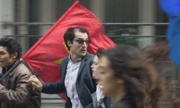 Cannes 2017: Le redoutable, Hazanavicius 'decostruisce' il mito di Jean-Luc Godard tra amore, cinema e politica.