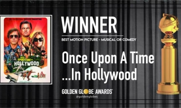 Golden Globe 2020: trionfano Sam Mendes e Quentin Tarantino con 1917 e C'era una volta a... Hollywood