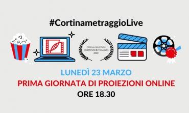 Cortinametraggio 2.0: inizia oggi, in streaming, la XV edizione