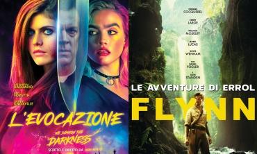 L'evocazione e Le avventure di Errol Flynn: grandi titoli Blue Swan Entertainment in DVD